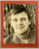 An Autographed photo by Anthony Hopkins from the private collection of Keith Wilson Production