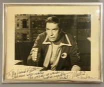 RARE: Space 1999 Martin Landau signed photograph and message that reads: To Keith 'The Man who