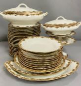 A French Limoges dinner service