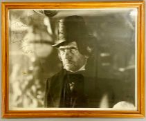 An autographed photo of Tome Courtenay from the estate of Keith Wilson Production Designer and Art