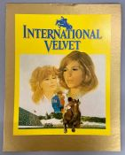 International Velvet screenplay and signed phot of Tatum O'Neill from the private collection of