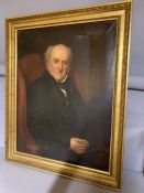 A 19th century English school, 'Mr Howell' (according to writing verso, also dated 1841), oil on