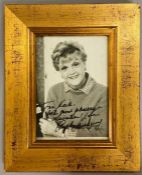 An Autographed photograph of Angela Lansbury.