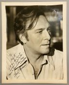An autographed photo of Christopher Plummer from the estate of Keith Wilson Production Designer