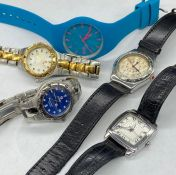 A small selection of ladies watches.