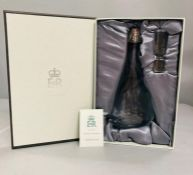 Decanter in a Box a Christmas present from Queen Elizabeth II 2009 given as a gift to a member of