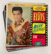 Nine Elvis records and two London Symphony orchestra classic rock and The Queen collection, one
