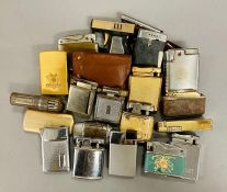A selection of lighters