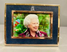 Royal Memorabilia: A photo of Queen Elizabeth II given as a gift to a member of the Royal