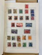 An album of pre decimal German stamps