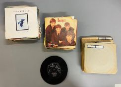 A selection of various records
