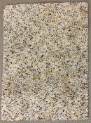A colourful shaggy rug (165cm x 115cm)