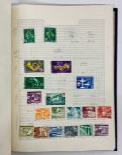 An album of world wide stamps