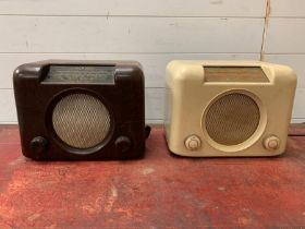 A matching pairs of brush radios