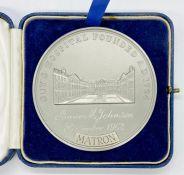 A Guys Hospital Medallion for Anne M Johnson September 1962 Matron