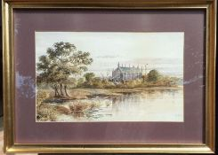 """Alfred Stone (b.1840) British, """"Eton Collage"""", signed lower right and titled lower left,"""