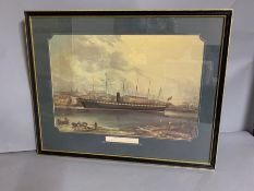 SS Great Britain (58cm x 46cm)