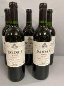 Five Bottles 2008 of Roda I Rioja