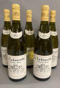 Five Bottles of 2012 de Ladoucette Pouilly Fume