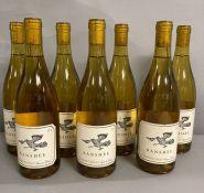 Seven Bottles of 2103 Banshee Chardonnay