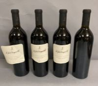 Four Bottles of La Jota Vineyard Co 2010 Howell Mountain Cabernet Sauvignon.