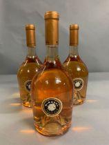 Three Bottles of Miraval Cotes De Provence Rose