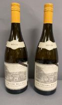 Two Bottles of 2010 Le Cigare Blanc white wine