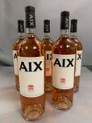 Five 150cl Bottles of Aix Vin de Provence