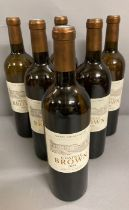 Six Bottles of Chateau Brown 2008 Pessac Leognan