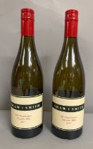 Two bottles of Shaw & Smith M3 Chardonnay Adelaide Hills 2015