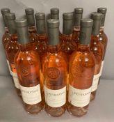 Twelve Bottles Peyrassol Reserve des Templieres Rose NV