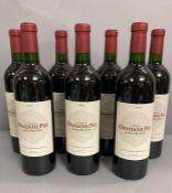 Six Bottles of 2005 Chateau Ormes De Pez Saint Estephe wine.