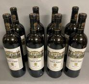 Eight Bottles of 2005 Chateau Leoville Barton Saint Julien
