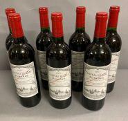 Seven Bottles of 2001 Chateau Le Gay Pomerol