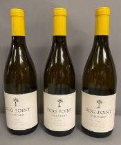 Three Bottles of 2008 Dog Point Chardonnay