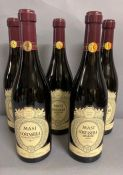 Four Bottles 2011 of Masi Costasera Amarone Classico and one bottle of 2012