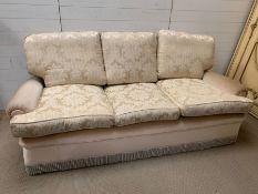 A Duresta Sofa on cream grounds