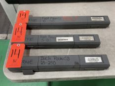 Lot - (3) McMaster-Carr Torque Wrenches; Ranging from: 3/8 in. Drive 5-80 ft. lbs., 1/2 in. Drive