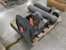 Amca Blower; with 3-HP Motor, 60-Hz, to Include: (1) Valve Tank and (1) 8 in. x 24 in. Roller