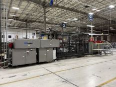 Armac Model 275-3030S In-Line Thermoforming Machine, S/N: 060799; with 102 in. Pre-Heat Ceramic