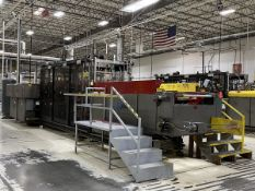 Armac Model 249-3036 In-Line Thermoforming Machine, S/N: 050998; with 126 in. Pre-Heat Ceramic Oven,