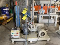 Una-Dyn 15-HP Vacuum Pump, S/N: 264284.01-02-1205; 460-V, 3-Ph, 60-Cycle, to Include: 15-HP Reliance