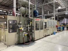 Brown 50 in. Model CS-5500 In-Line Thermoforming Machine, S/N: 15325 (2009)