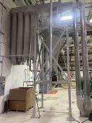 8-Bag Material Transfer Dust Collector, 10 ft.- 3 in. high x 40 in. wide, with Blower