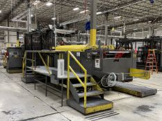 Armac Model 248-3030S In-Line Thermoforming Machine, S/N: 28598; with 102 in. Pre-Heat Ceramic Oven,