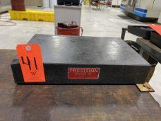 Precision 12 in. wide x 18 in. long Granite Table