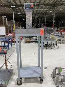 Mettler-Toledo 60 x 0.1 Cap. Model ICS445 Scale; 26 in. wide x 20 in. long Platform, with Cart