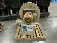 New York 25-HP Pressure Blower (2004); 15-CFM, 3,500 RPM, with Baldor Motor, 3,525 RPM, 230/460-V