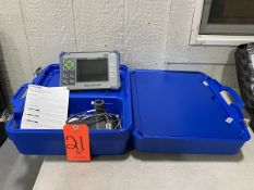 Olympus Model Magna-Mike 8600 Thickness Gage, S/N: 200672503; Magnetic 4.76 mm (3/16 in.) Target