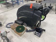 Viper Model Fang 28T Walk-Behind Electric Floor Scrubber, S/N: 002208; 24 VDC, 50-Amps, 1,200-W,
